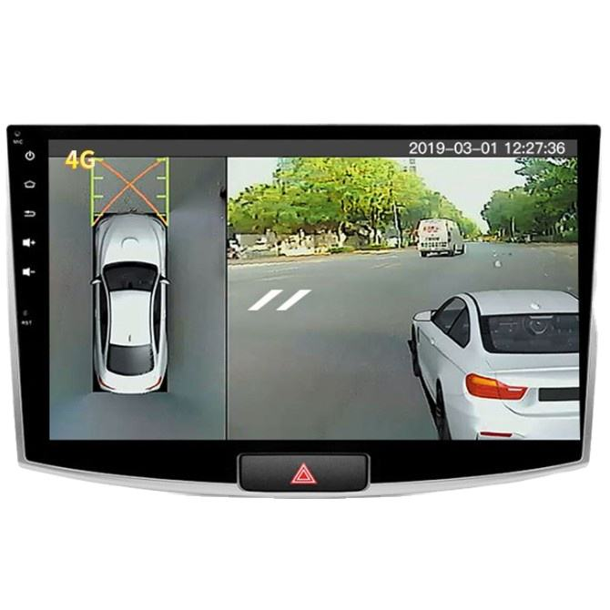 Bird eye view night vision monitoring 360 degree 3D panoramic car Camera system