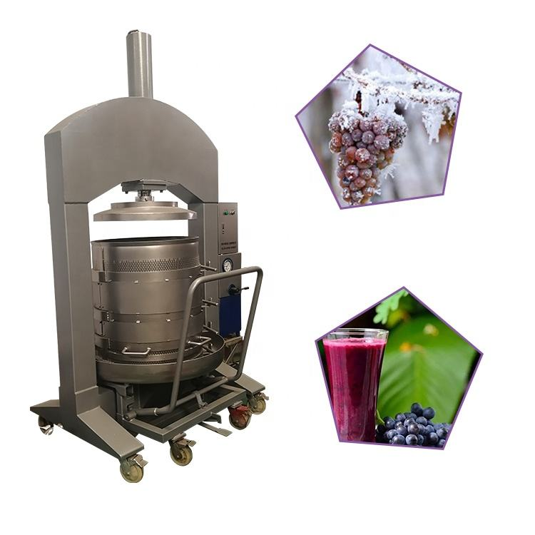 Hydraulic Grape Press Machine high quality wine press for sale