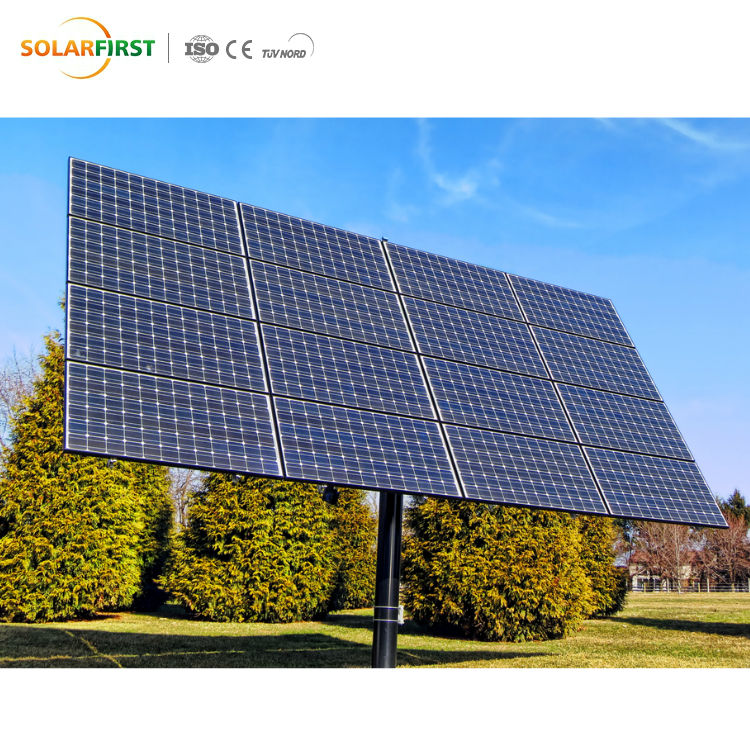 Open field ground 10kw solar panel pv mounting bracket solar power system
