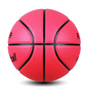 Promotional colorful rubber custom basketball ball