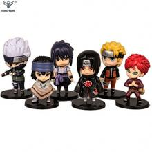 high quality collectible naruto pvc figurine, custom made PVC anime figure toy, customize mini cartoon anime pvc figure toy