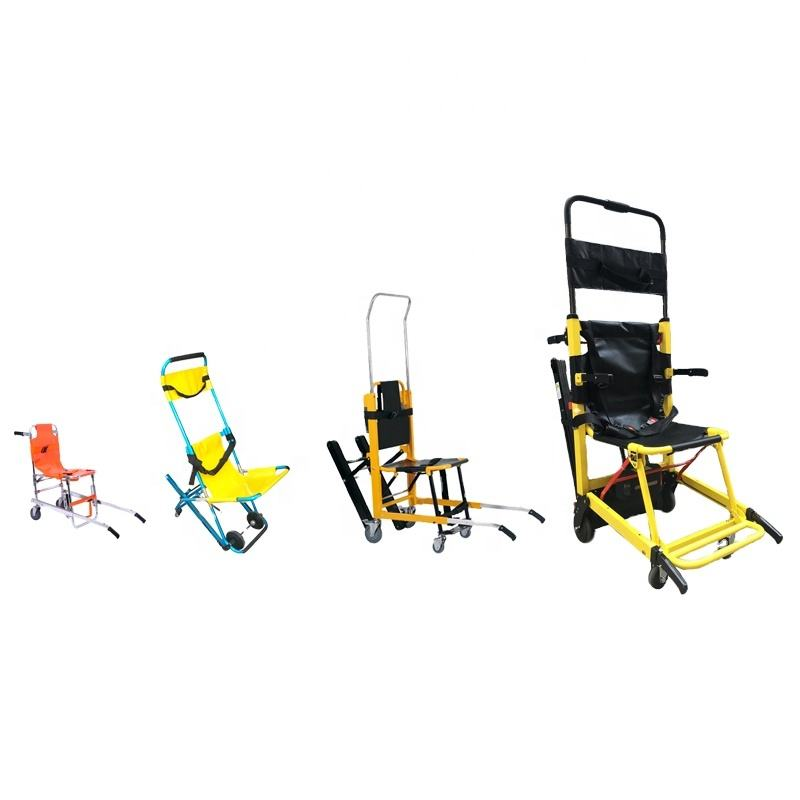Folding Stairway carrying aluminum alloy climb Power rescue emergency evacuate hospital medical military stair chair stretcher