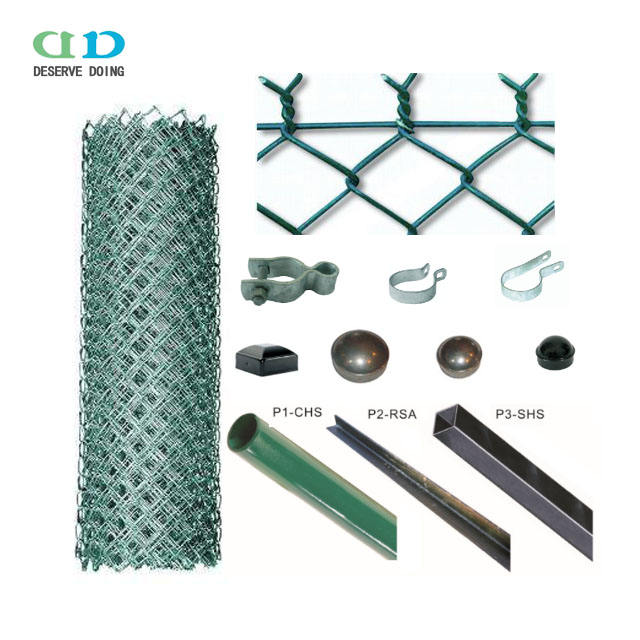 High quality sturdy and durable/ tennis court fence/ traffic barricades (chain link) from China factory