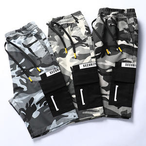 Fashion New Style Stock Sale Customizable Rts Pocket Summer Beach Casual Street Camouflage Cargo Mens Shorts pants