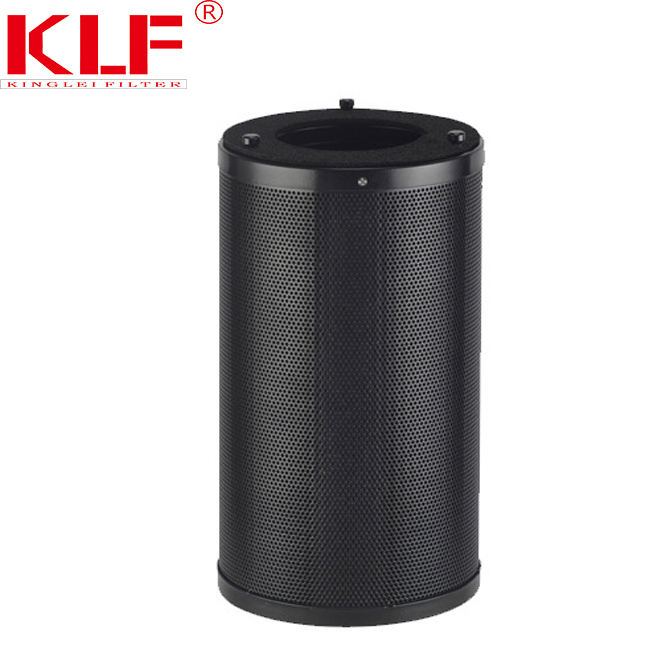 Circulaire air verse activated carbon filter interieurfilter