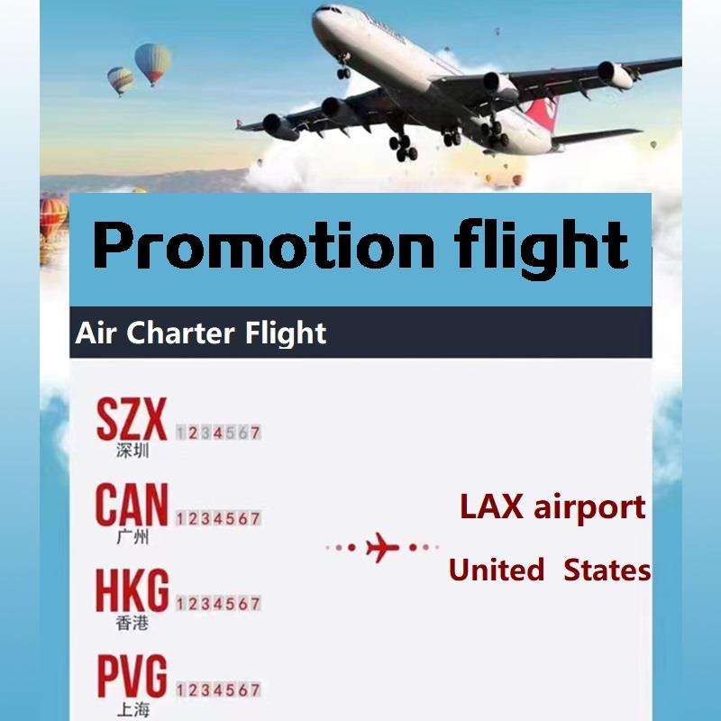 Super activity cheapest air freight from china to United States LAX air