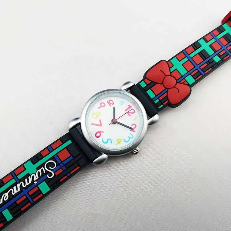 Kids black simple watches for girls with price kids analog watches