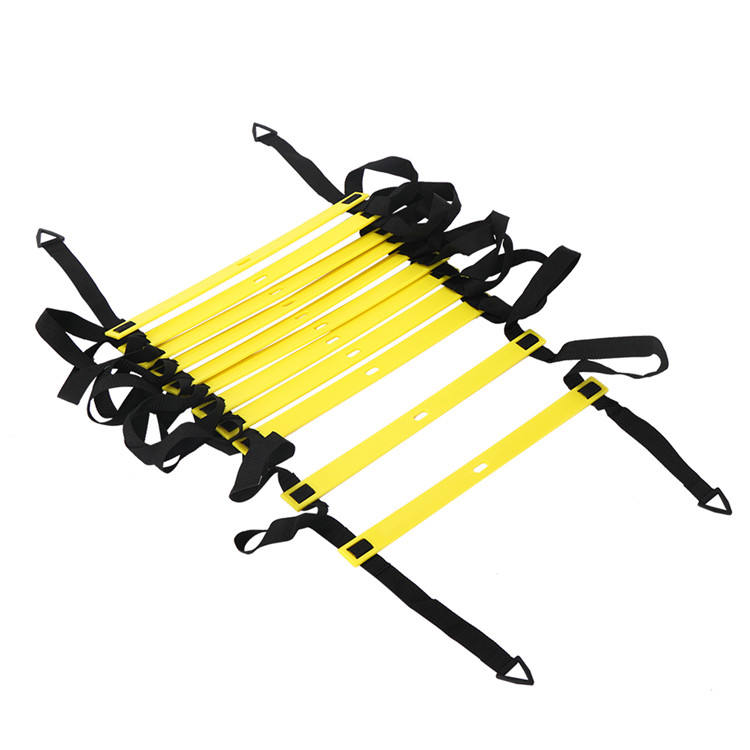 Adjustable Speed Training Ladder for Football /Soccer / basketball , TPR Agility Ladder