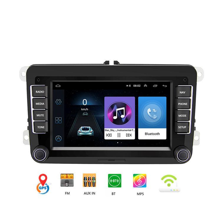 "9/""Android8.1 DAB Radio Bluetooth GPS SatNav BT Car Stereo For VW Passat B6 B7 CC"