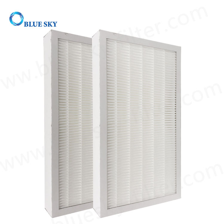 Customized Panel Paper Frame Pleated Air Purifier H13 HEPA Filter Replacement Parts