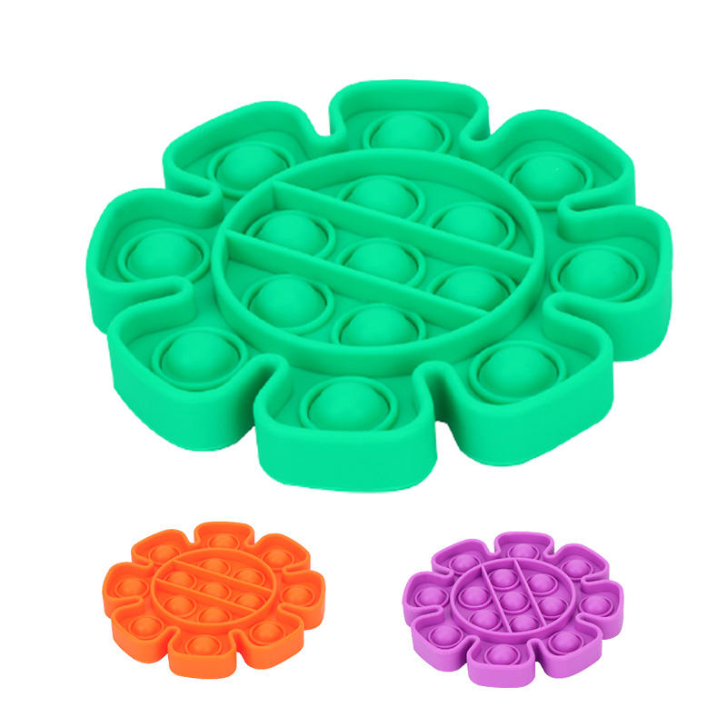 Anti Stress Vinger Hand <span class=keywords><strong>Grip</strong></span> Stress Vormige Push Bubble Siliconen <span class=keywords><strong>Speelgoed</strong></span> Kinderen Volwassen Stress Reliever Fidget Squeeze Board Game