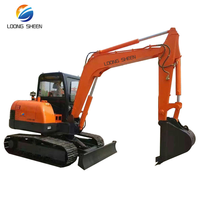 6-Ton China Brand Excavator With Snow Blade