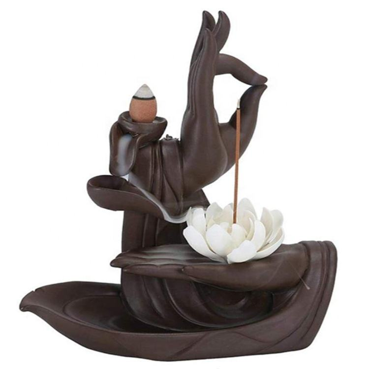 Incense Buddha Hand Incens Stick Holder