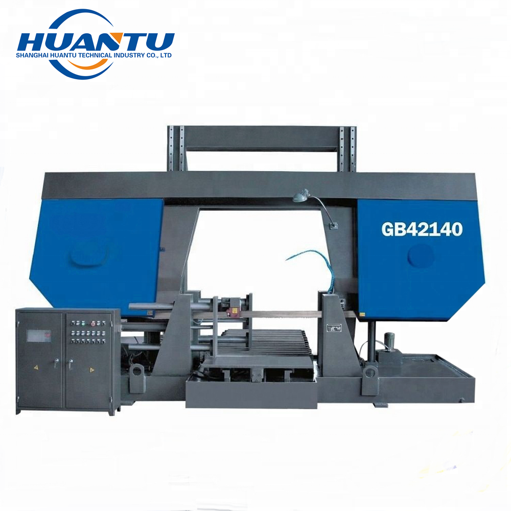 Double Column Horizontal Semi-Automatic Metal Cutting Band Saw Machine