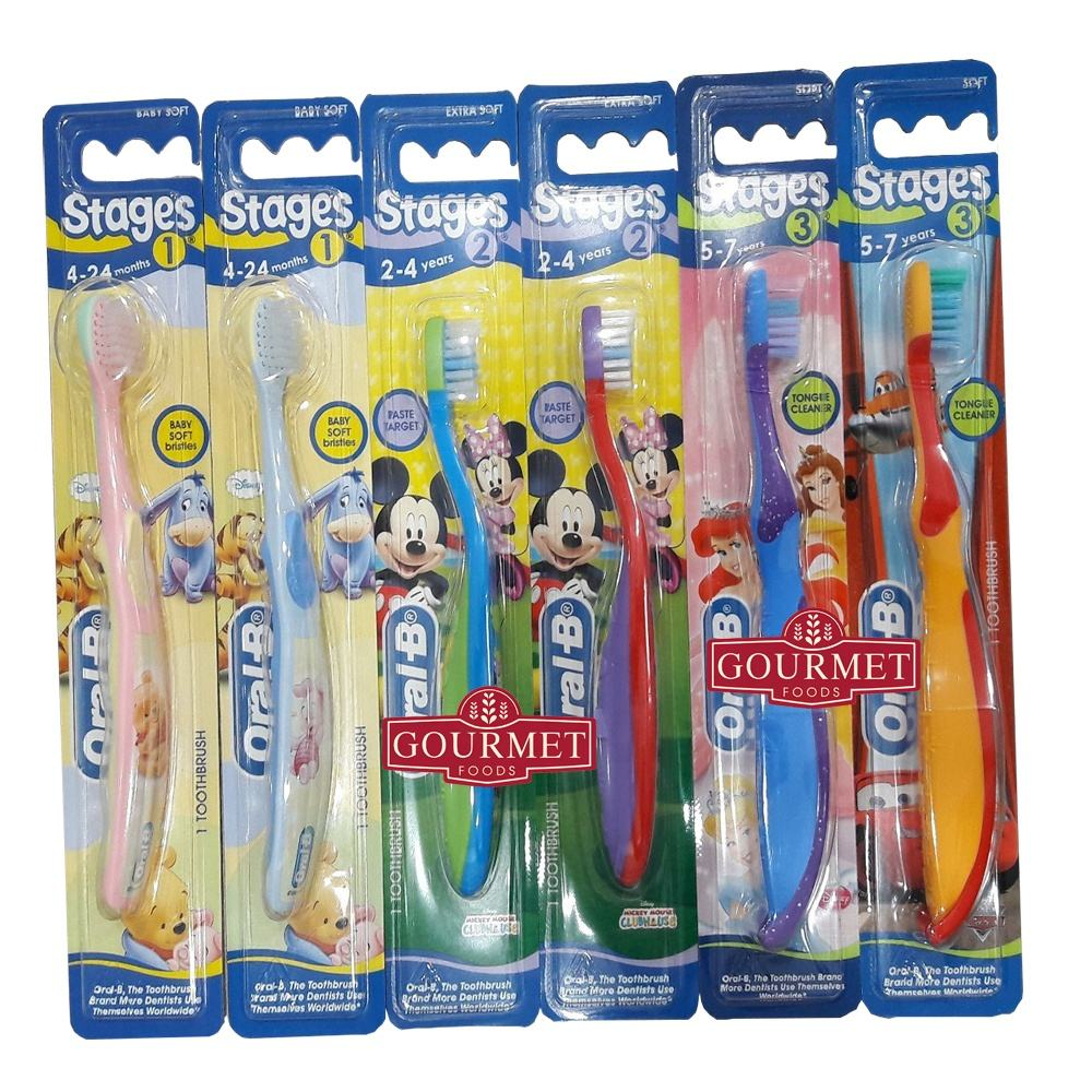 Toothbrush Orall B Stages 1 2 3 4 baby 1x96/ baby toothbrush