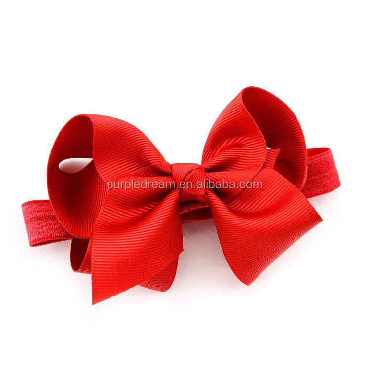 Handmade Kid's Hairband Nice Bow Accessory For Baby