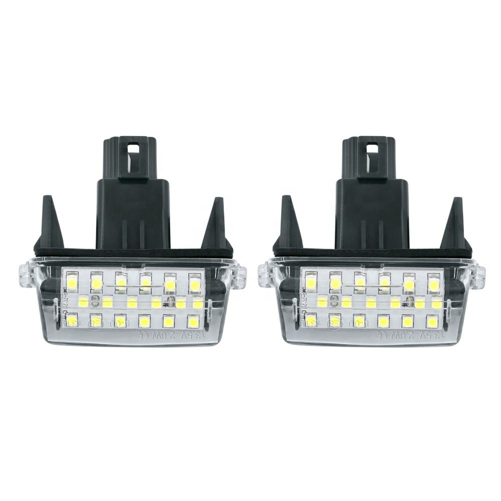 LED License Plate Light led lamp 12v high quality led lamp car accessory auto light for TOYOTA CAMRY 2012