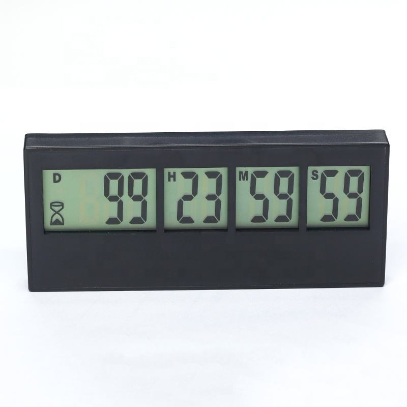 KH-TM033 Desktop Count Down 999 Days Hours Minutes Seconds LCD Days Digital Countdown Timer