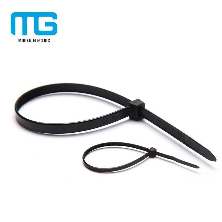 3.6*300mm durable and heat resistant well insulation plastic straps cable tie colored cable tie