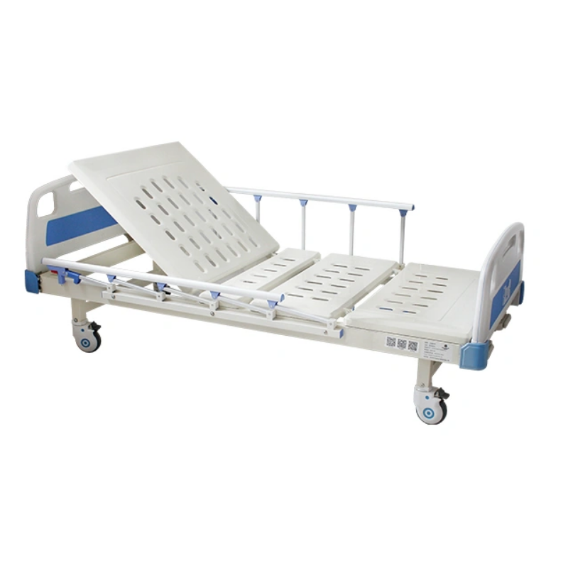 ABS Clinic Metal Adjustable Luxury Medical Electric ICU Patient Clinic Bed for Hospital Equipment