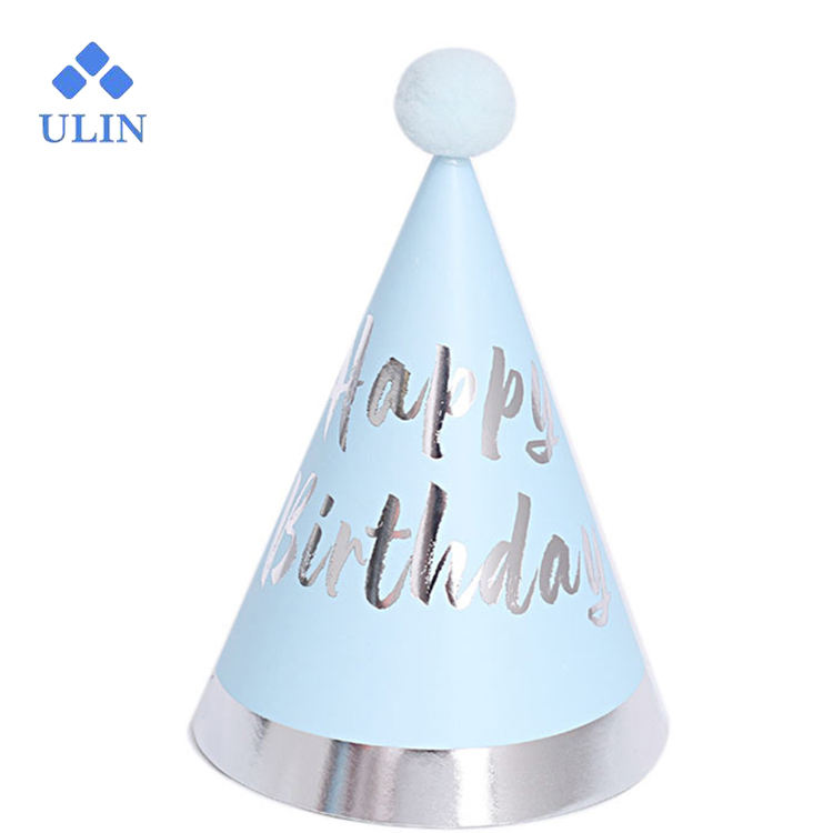 Professional Manufacturer Wholesale Modern New Party Cone Birthday Hat