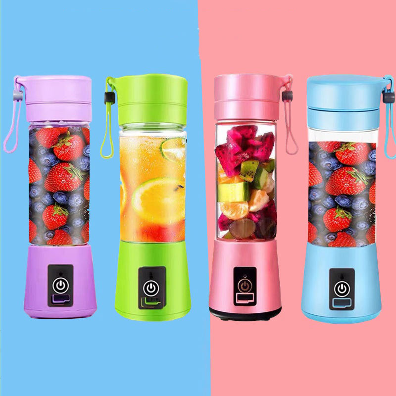 180W 3.7V 380ml Usb Mixer Electric Juicer Machine Smoothie Blender Mini Personal Blender Cup Juice Portable Blender