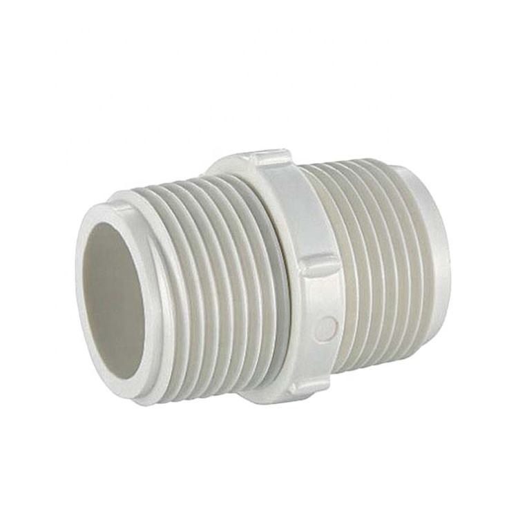 CHINA PROFESSIONAL MANUFACTURER GOOD PVC BSPT THREAD FITTINGS