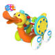 Electric plastic walking battery operated musical duck toy for baby