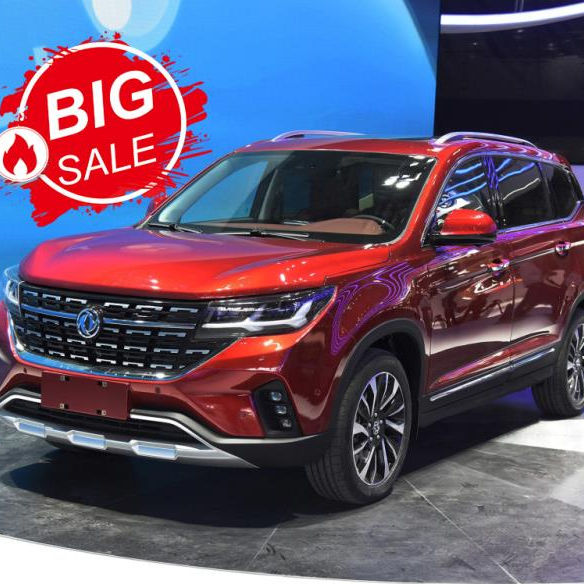 online sales luxury dongfeng suv gas T5 with auto suv/suv auto cheap cars for sale