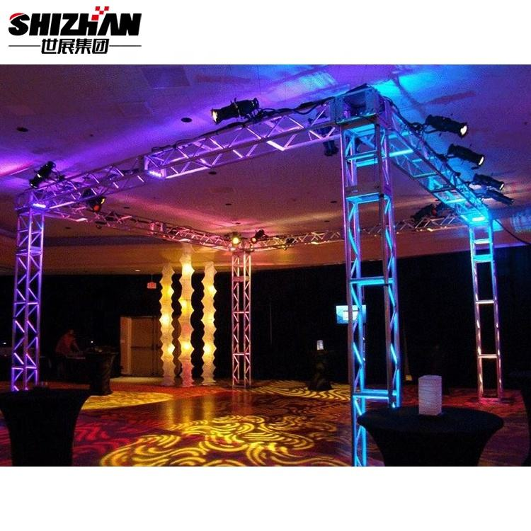 Fashional Line Array Concert Lighting Truss With Stage Lighting Frame