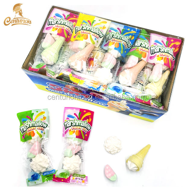 factory direct price halal delicious 3 in 1 sweet marshmallow candy