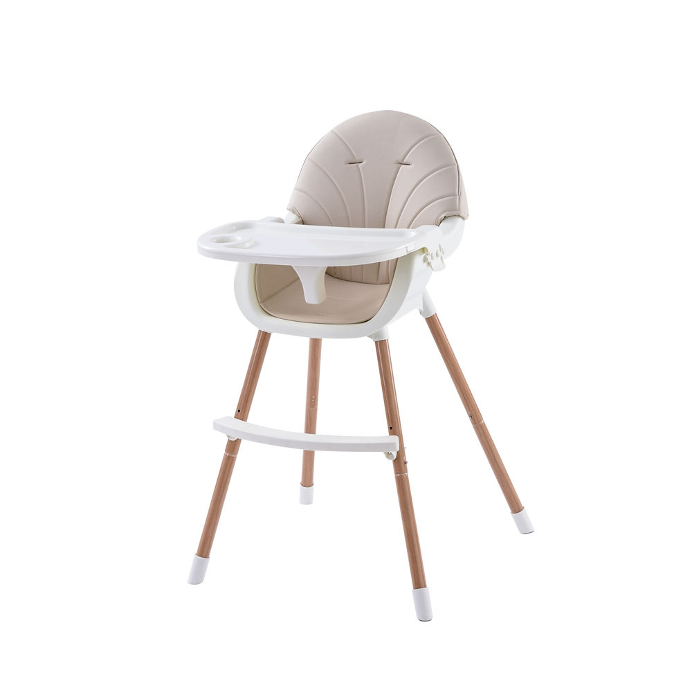 New Product Provide Sample Service Easy Moving Adjustable Plastic Foldable Baby Eating Sitting High Chair For Toddler