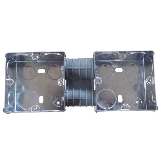 BS 33-1/2/3/4 Gang wall mount galvanized steel electrical junction box