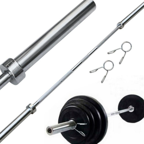 Olympic Weight Lifting straight Barbell 20kg Weight Barbell Bar