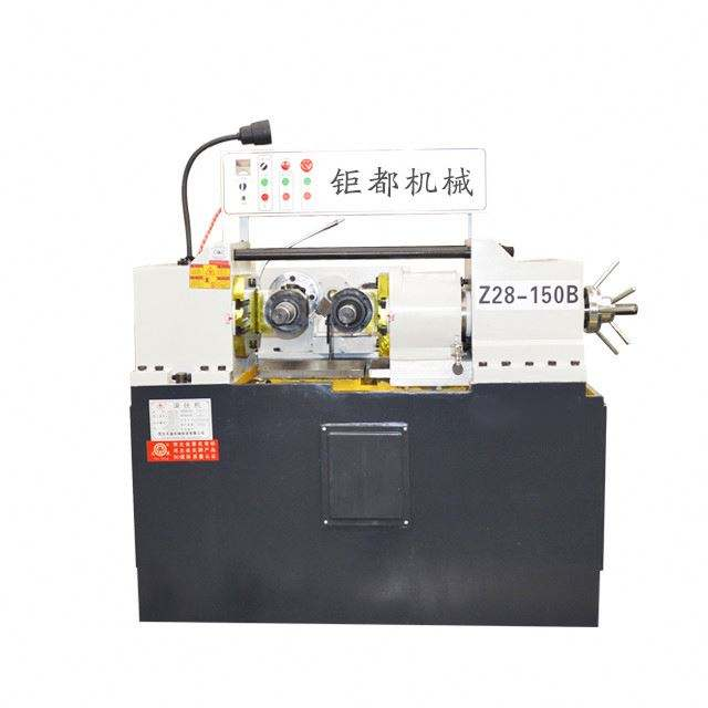 Thread rod U bolt making thread rolling machine price