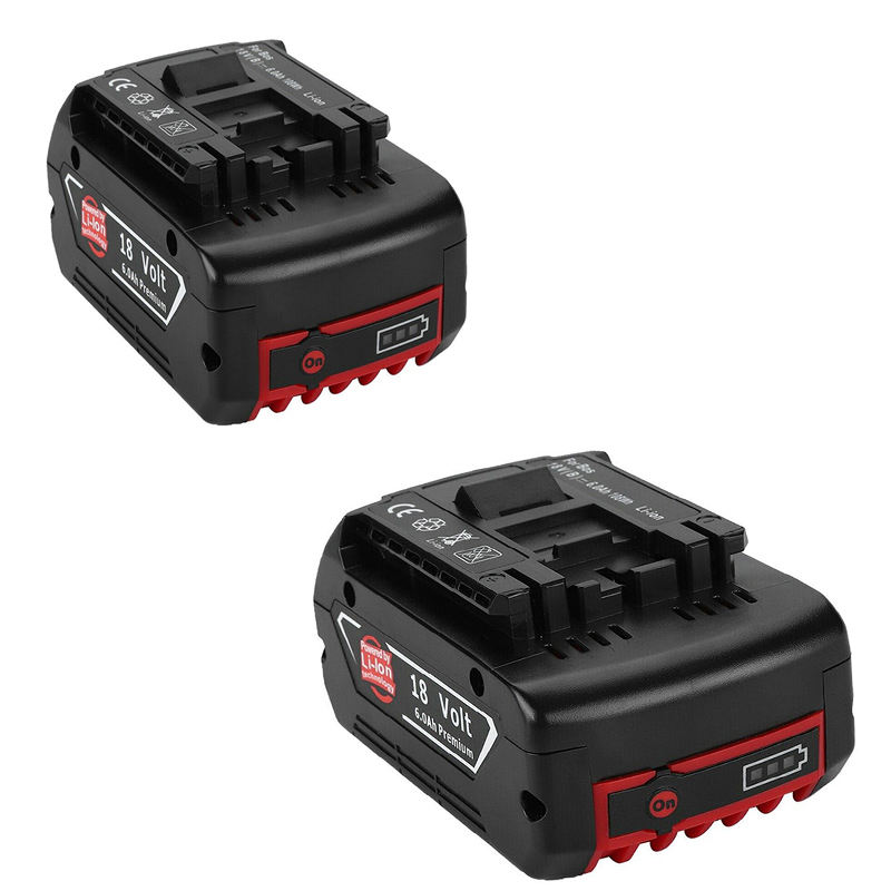 Wholesale 18V 6.0Ah Rechargeable Replacement Cordless Dills Batteries for Bosch Battery Power Tool