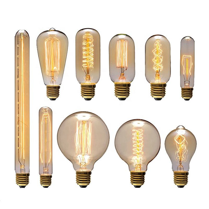 Edison Bulb E27 40W Retro Filament Edison Light 90 V-260 V Bedroom Incandescent Bulb Lamp