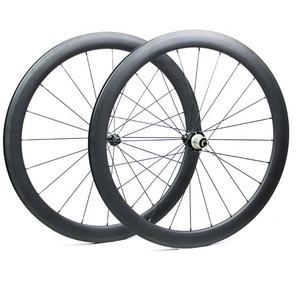 700c Full carbon fiber road bike tubeless ready wheel set
