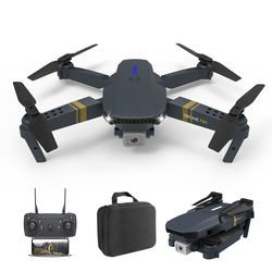 F89 Wifi folding RC  drone 4k dual camera long-life quadcopter professional iremote control min drone