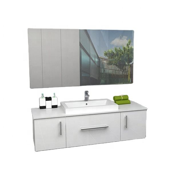 Best Sellers Hotel Bathroom Country Style Vanity with Mirror Cabinets in Bathroom