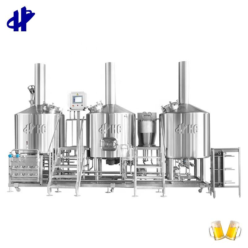 50% discount 1000L Beer Brewing Machine Equipment Turnkey Project