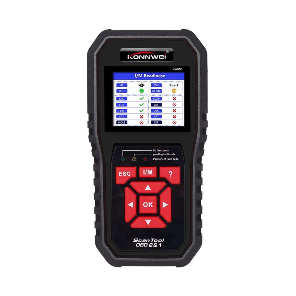 OBD2 Auto Diagnose Scanner Konnwei KW850 Volledige Functie Auto Diagnose Tool Universele OBD2 Engine Code Reader