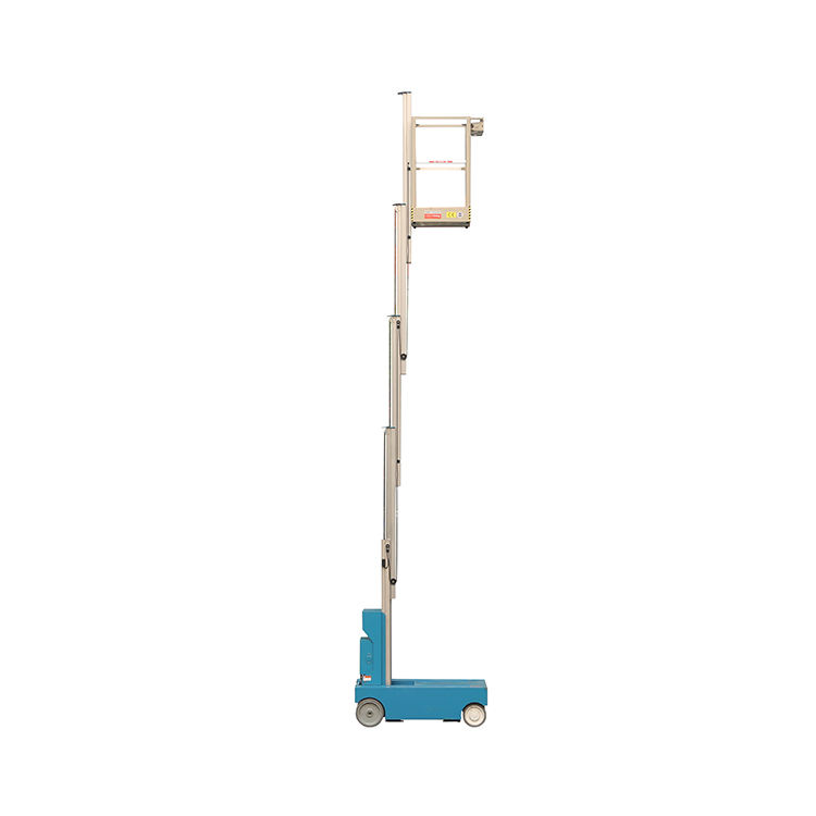 Aluminum Self Propelled Hydraulic Aerial Lift Electrical Aerial Work Platform