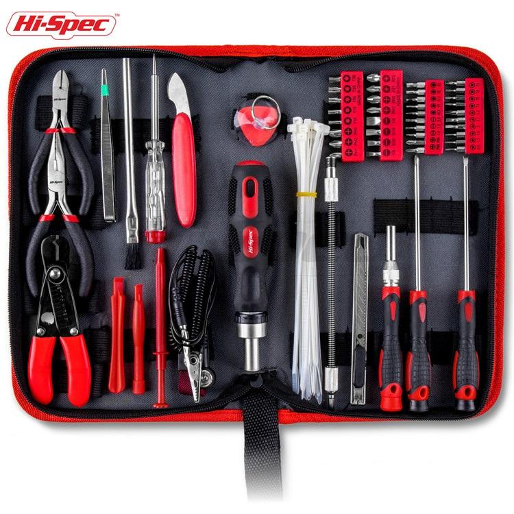 Hispec 73 Piece Electrical Computer Laptop Repairing tool set Kit with Precision hand tools