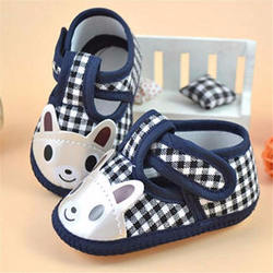 Cartoon Baby Shoes Cotton Soft Bottom Baby Girl Boy Shoes Co