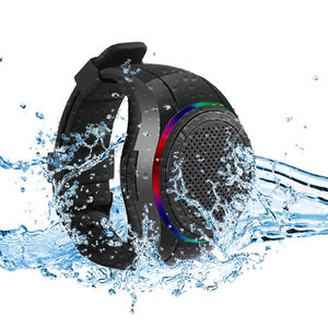 X10 IP45 Waterdichte Led Bluetooth Speaker Horloge Tws MP3 Muziekspeler Armband Mini Wearable Draadloze Draagbare Bluetooth Speaker