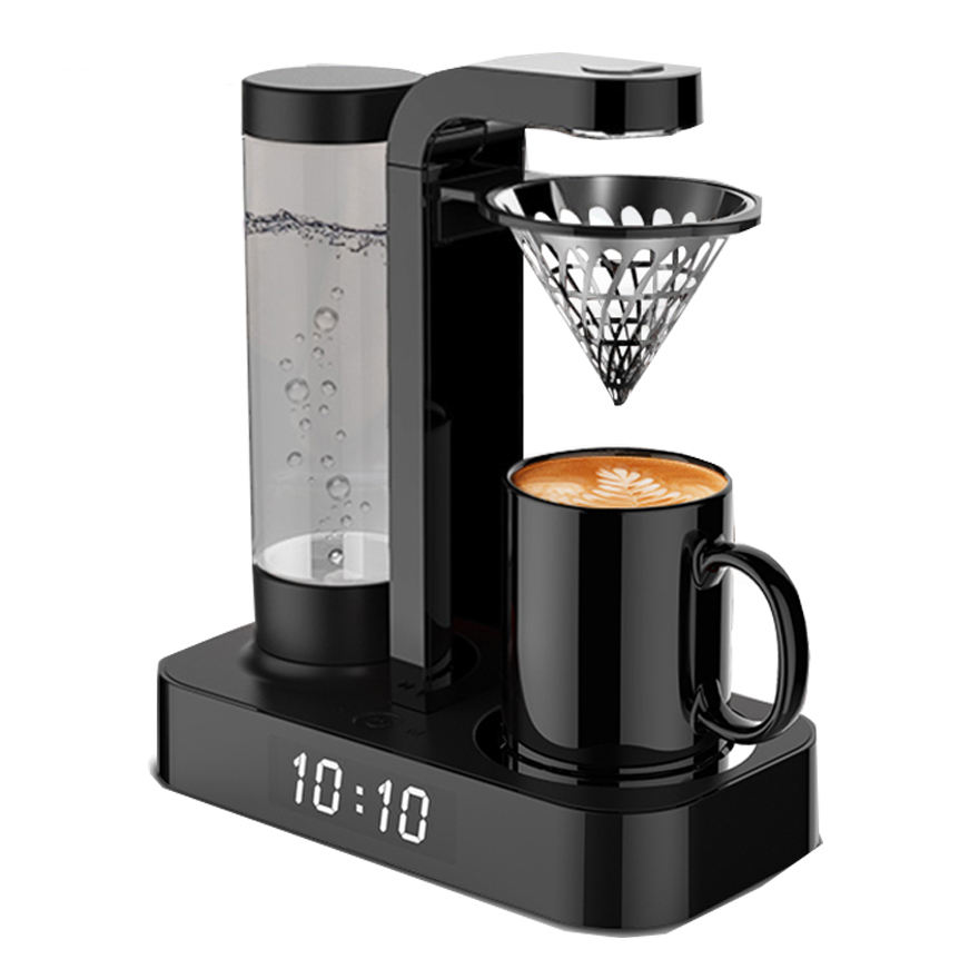 Modern design GS/CE/CB/ETL/CCC/ERP with LED clock function 500ml 92-98 degree Drip Coffee / Tea Maker