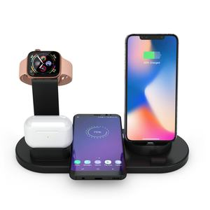 new products 2021 Patent approved 10W 9V 2A Detachable Split 3 in 1 wireless charger stand wireless charging dock