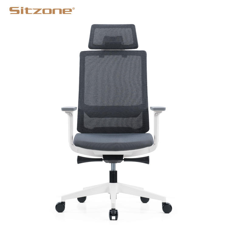 Ergonomic Adjustable Arm Executive Mesh Office Chairs For Offices