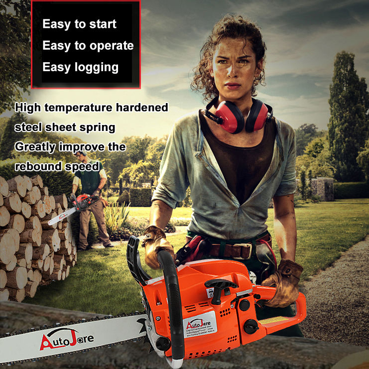 gasoline chain saw USA free shipping wholesale price chainsaw